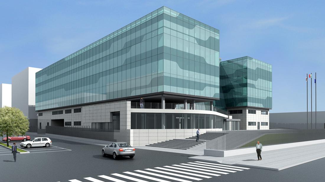 Palazzo per uffici roma marco giacomelli architetto for Uffici eur roma