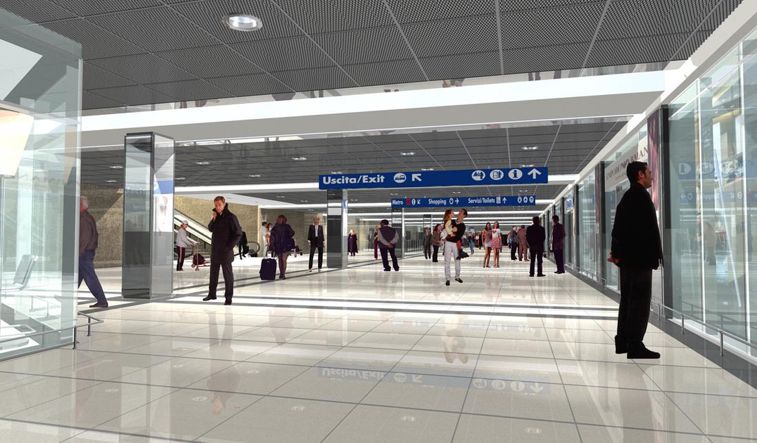 Lavori Ristrutturazione : Stazione centrale napoli marco giacomelli architetto